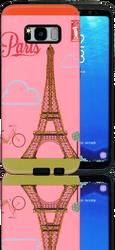 Samsung Galaxy S8 MM 3D Glitter Paris