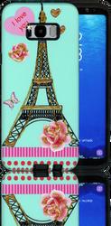 Samsung Galaxy S8 MM 3D Paris Love