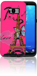 Samsung Galaxy S8 PLUS MM 3D Paris Butterfly