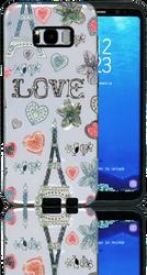 Samsung Galaxy S8 PLUS MM 3D Paris Hearts