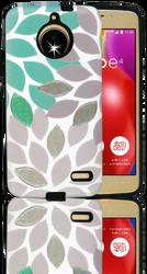 Motorola E4 MM 3D Leaves