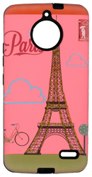 Motorola E4 MM 3D Glitter Paris