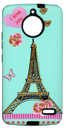 Motorola E4 MM 3D Paris Love