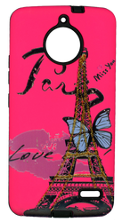 Motorola E4 MM 3D Paris Butterfly