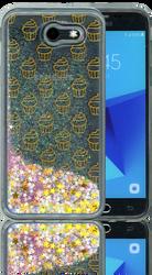Samsung Galaxy J3 Emerge MM Water Glitter Cup Cake
