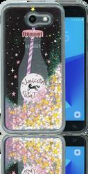 Samsung Galaxy J3 Emerge MM Water Glitter Unicorn