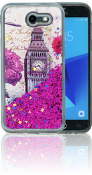Samsung Galaxy J3 Emerge MM Water Glitter London