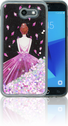 Samsung Galaxy J3 Emerge MM Water Glitter Princess