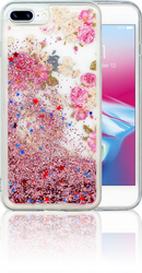 Iphone 7 PLUS/8 PLUS  MM Water Glitter Flowers
