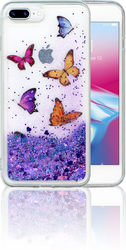 Iphone 7 PLUS/8 PLUS  MM Water Glitter Butterfly