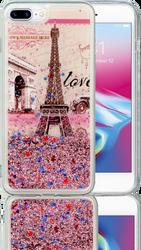 Iphone 7 PLUS/8 PLUS  MM Water Glitter Paris