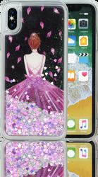Iphone X  MM Water Glitter Princess