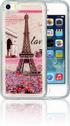 Iphone 5/5S/SE  MM Water Glitter Paris