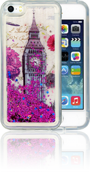 Iphone 5/5S/SE  MM Water Glitter London