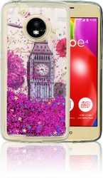 Motorola E4  MM Water Glitter London