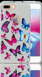 Iphone 7 PLUS/8 PLUS  MM Butterfly Glitter Hybrid