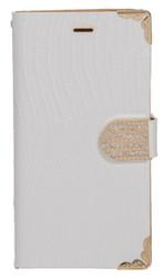 Samsung Galaxy Avant Deluxe Wallet White