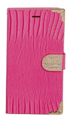 Sharp Aquos Crystal Deluxe Wallet Pink