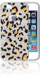 Iphone 5/5S/SE  MM Cheetah Glitter Hybrid