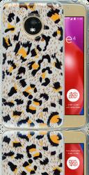 Motorola E4  MM Cheetah Glitter Hybrid
