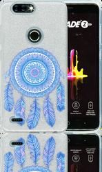 ZTE Blade  MM Feathers Glitter Hybrid