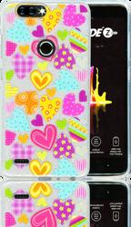 ZTE Blade  MM Hearts Glitter Hybrid