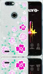 ZTE Blade  MM Flowers Glitter Hybrid