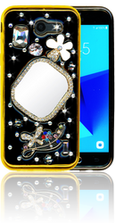 Samsung Galaxy J3 Emerge  MM Bling 3D Mirror
