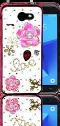 Samsung Galaxy J3 Emerge  MM Bling 3D Love