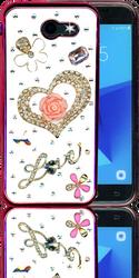 Samsung Galaxy J3 Emerge  MM Bling 3D Heart