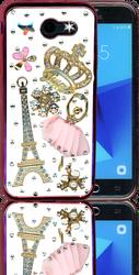 Samsung Galaxy J3 Emerge  MM Bling 3D Paris