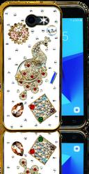 Samsung Galaxy J3 Emerge  MM Bling 3D Peacock