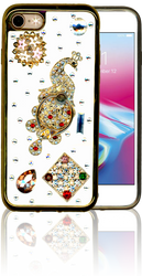 Iphone 7/8  MM Bling 3D Peacock