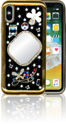 Iphone X  MM Bling 3D Mirror