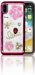Iphone X  MM Bling 3D Love