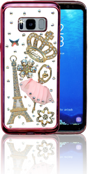 Samsung Galaxy S8  MM Bling 3D Paris