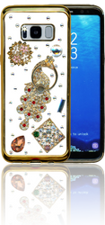 Samsung Galaxy S8  MM Bling 3D Peacock