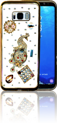 Samsung Galaxy S8 PLUS  MM Bling 3D Peacock