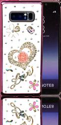 Samsung Galaxy Note 8  MM Bling 3D Heart