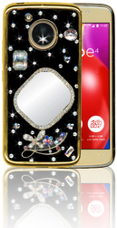 Motorola E4  MM Bling 3D Mirror