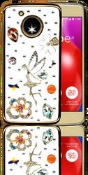 Motorola E4  MM Bling 3D Tinkle