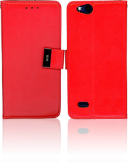 ZTE Tempo X MM Premium Folio Wallet Red