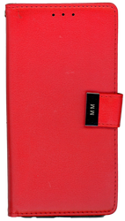 ZTE Blade Force MM Premium Folio Wallet Red