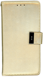 ZTE Blade Force MM Premium Folio Wallet Gold