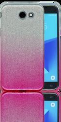 Samsung Galaxy J3 Emerge MM Glitter Hybrid (Two Tone) Pink