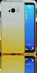 Samsung Galaxy S8 MM Glitter Hybrid (Two Tone) Gold