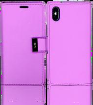 Iphone X MM Premium Folio Wallet Purple