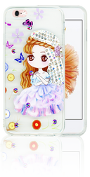 Iphone 6/6S MM Electroplated Bling Girl 2