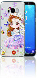 Samsung Galaxy S8 MM Electroplated Bling Girl 2