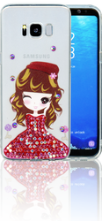 Samsung Galaxy S8 MM Electroplated Bling Girl 3